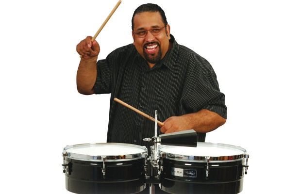 Son Cafe: Ralph Irizarry gives Monte a timbale lesson