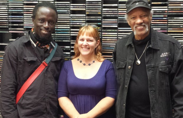 WOFA's Bisko and Charles Neville